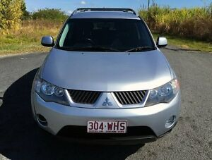 2006 Mitsubishi Outlander ZG MY07 LS Silver 6 Speed Constant Variable Wagon Stapylton Gold Coast North Preview