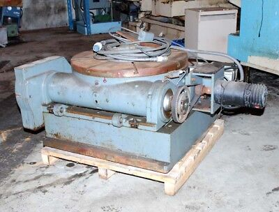 Pratt Whitney 36 Tilting Rotary Table Inv.16738