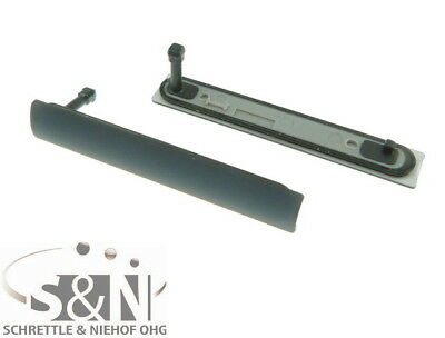 Sony Xperia Z3 compact D5803 SIM Abdeckung Dichtung Propfen Kappe Deckel schwarz