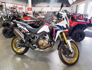 2017 Honda Africa Twin - Low km demo with full warranty!