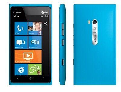 Nokia Lumia 900 - 16GB - Cyan Blue (AT&T/Unlocked) *VERY GOOD *CLEAN IMEI *FAST