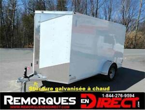 **GALVANISÉ** 6X12X6 Remorqe Cargo FERMÉ Idéal contre la rouille