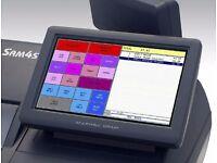 Sam4s Hybrid 7' EPOS Touchscreen ER-530 FT ECR Cash Register 500 Till Printer 520