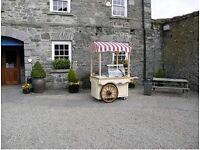 Ice cream cart, candy floss cart business startup