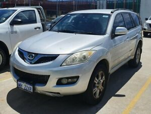 2012 Great Wall X200 K2 MY12 Silver 5 Speed Automatic Wagon Edgewater Joondalup Area Preview