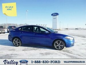 ATTRACTIVE, LOW KMS, FUN TO DRIVE! 2013 Dodge Dart LIMITED/GT