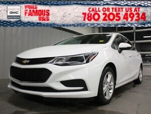 2018 Chevrolet Cruze LT. Text 780-205-4934 for more information!