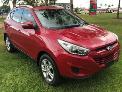 2014 Hyundai ix35 LM3 MY14 Active Red 6 Speed Sports Automatic Wagon