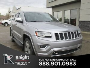 2014 Jeep Grand Cherokee Overland Diesel Heated/Cooled Leather N