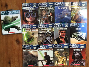 STAR WARS 12 Phonics Books Boxed Set $10