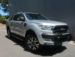 2018 Ford Ranger PX MkII 2018.00MY Wildtrak Double Cab Silver 6 Speed Sports Automatic Utility Reynella Morphett Vale Area Preview