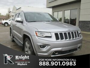 2014 Jeep Grand Cherokee Overland Heated/Cooled Leather NAV Back