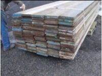 Scaffolding boards for sale , for farm & Equestrian railed fencing, builders projects, home DIY