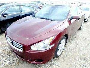 2012 NISSAN MAXIMA SV LEATHER SUNROOF B-CAM 75K-100% FINANCING!!