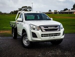 2019 Isuzu D-MAX MY19 SX Crew Cab 4x2 High Ride White 6 Speed Sports Automatic Cab Chassis Christies Beach Morphett Vale Area Preview