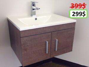 MÉGA LIQUIDATION  vanité de salle de bain 399$ pour 299$