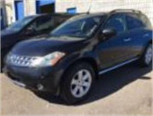 2007 NISSAN MURANO SL AWD/SUNROOF/HEATED SEATS/POWER GROUP/ALLOY