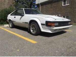 1986 Toyota Supra MKII Project Car.