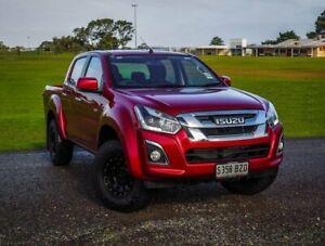 2019 Isuzu D-MAX MY19 LS-M Crew Cab Red 6 Speed Sports Automatic Utility Christies Beach Morphett Vale Area Preview