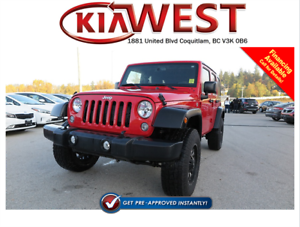 2014 Jeep Wrangler Unlimited Sport V6 4x4
