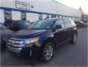 2011 FORD EDGE SEL AWD LOADED PANO ROOF BACK UP SENSORS/ALLOYS