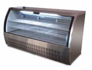 GRAVITY COOLING PASTRY OR DELI DISPLAY FRIDGE * 5 YEAR COMPRESSOR WARRANTY WRITTEN ON INVOICE = REAL QUALITY *