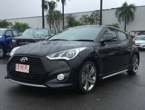 2014 Hyundai Veloster FS3 SR Coupe Turbo Black 6 Speed Manual Hatchback Berrimah Darwin City Preview
