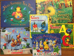 MISS SPIDER children's books $3 each or all 6 for $15 London Ontario image 1