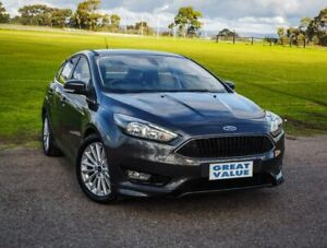 2018 Ford Focus LZ Sport Grey 6 Speed Automatic Hatchback Christies Beach Morphett Vale Area Preview