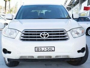 2010 Toyota Kluger GSU45R KX-R AWD Silver 5 Speed Sports Automatic Wagon Baulkham Hills The Hills District Preview