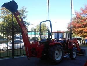 Kioti DK35 tractor with loader and backhoe Mount Barker Mount Barker Area Preview