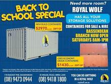 20ft SEA CONTAINER SHIPPING CONTAINER  NEW BUILD Bassendean Bassendean Area Preview