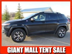 2016 Jeep Cherokee TRAILHAWK  **LEATHER-NAV-SUNROOF**