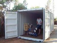 Storage Container Seacan Rentals and Fence Panel Rental