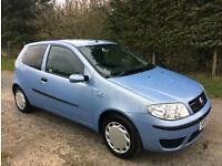 2005 Fiat Punto 1.2 56,000 Miles MOT OCTOBER
