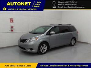 2013 Toyota Sienna LE/8-Seat/Powered Doors/DVD/Backup Cam/Low KM
