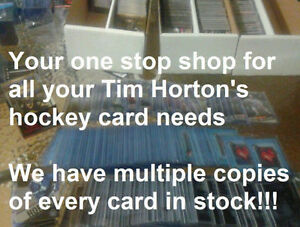 All 2015-16 Upper Deck Tim Hortons Hockey Card Singles Available London Ontario image 1