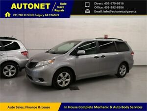 2011 Toyota Sienna/Low KM/No Accident/Fully Inspected&Serviced