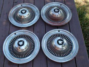 Buick Wildcat Wheel Covers (Full Set) 1963/1964 Stainless Steel