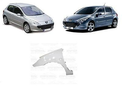 PEUGEOT 307 2005/2008 FRONT WING PAINTED ANY COLOUR LEFT SIDE N/S