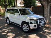 2007 Mitsubishi Pajero NS VR-X White 5 Speed Sports Automatic Wagon Medindie Walkerville Area Preview
