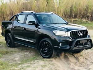 2019 LDV T60 MY17 Luxe (4x4) Black 6 Speed Manual Double Cab Utility Kenwick Gosnells Area Preview