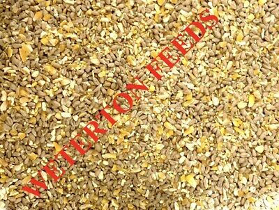 SPECIAL Mixed Poultry Corn feed 50/50 MIX Ducks Hen 20Kg -NEXT DAY DELIVERY-