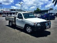 2011 Mazda BT-50 DX White 5 Speed Manual Cab Chassis Mackay 4740 Mackay City Preview