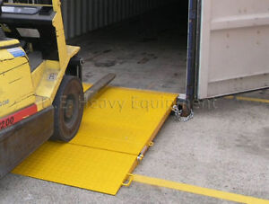 Heavy Duty Loading ramp | Container Ramp holds up to 18,000LB