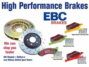EBC brake pads only at Cooper's! LONG LIFE BETTER THE OEM!!!