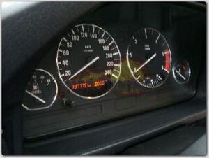 BMW 5er E34 4-teilig ALU TACHORINGE / TACHO RINGE