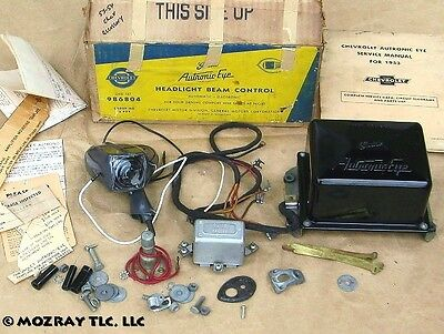 Chevy Autronic-Eye Headlight Beam Control Bel Air_One-Fifty_Two-Ten 1954-53 NOS