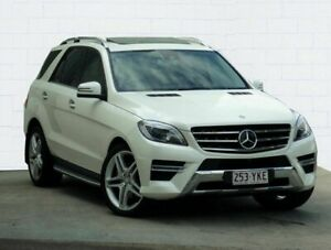 2013 Mercedes-Benz ML350 BlueEFFICIENCY 166 4x4 White 7 Speed Automatic Wagon Moorooka Brisbane South West Preview