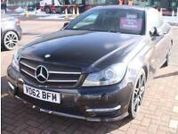 Mercedes Benz C C Coupe C220 2.1 CDI AMG Sport+
